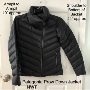 NWT Patagonia Prow Down Jacket - Size Medium